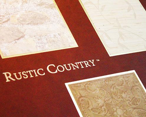 papel de parede classico rustic country