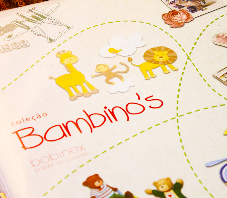 album infantil bobinex colecao bambinos