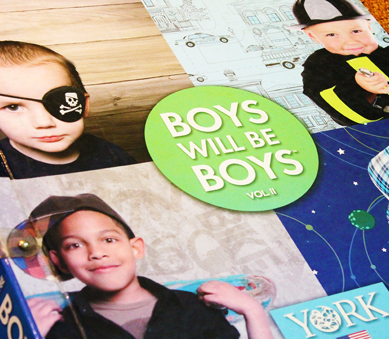 album infantil boys will be boys vol 2