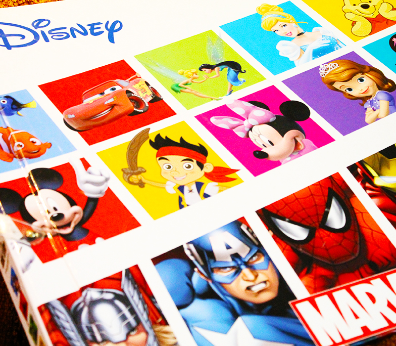 album infantil disney marvel vol 2
