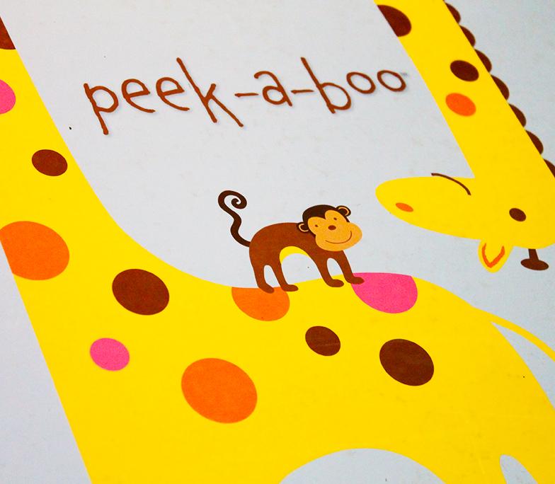 album infantil peek a boo